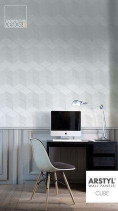 ARSTYL® Wall Panels CUBE www.kerma.hu #wall #wallart #3Dfalpanel #loftdesign #design #kerma #wallart3d #leather #panel  #3Dleatherpanel #burkolat #interior  #tile