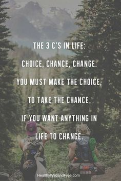 It all starts with a choice, I promise you. Make the choice and the Universe will make sure it happens for you.