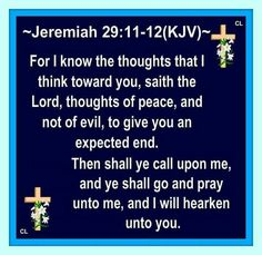 1000 ideas about jeremiah 29 11 kjv on pinterest - Jer 29 11 kjv ...