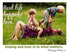 The Unplugged Family: Unplugging