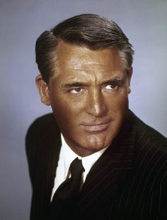 Cary Grant: as a little girl, I thought that Cary Grant was the main star in Hollywood, because all of the movies I saw were black and white and all of his films. Hollywood Icons, Vintage Hollywood, Hollywood Stars, Classic Hollywood, Cary Grant, Deborah Kerr, Empire State, Male Movie Stars, Becoming An American Citizen