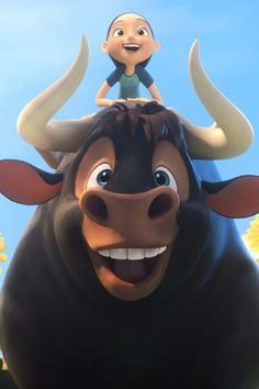 The First Trailer For Ferdinand Will Make Your Kids Beg For the Full Movie