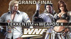 GRAND FINAL - TekkenTim (Steve) vs. Weapon X (Katarina, Claudio) - WNF 3.3 - Tekken 7 https://www.youtube.com/watch?v=B4o90ib6NRs&t=25s