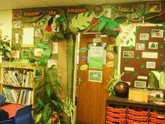 The Amazon Rainforest classroom display photo - Photo gallery - SparkleBox