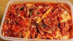 Kimchi by maangchi Asian Recipes, New Recipes, Cooking Recipes, Favorite Recipes, Healthy Recipes, Ethnic Recipes, Korean Dishes, Korean Food, Traditional Kimchi Recipe