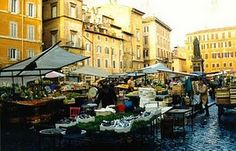 The square of Campo dei Fiori, close to Palazzo Farnese, is particularly famous because of what happened to the philosopher Giordano Bruno,. The Places Youll Go, Places Ive Been, Italy Vacation, New Adventures, Sardinia, How Beautiful, Amsterdam, To Go, Street View