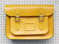 Present&Correct - Leather School Satchel