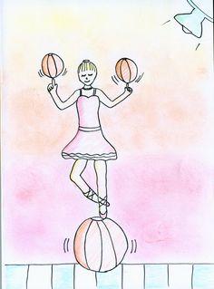Bailarina equilibrista