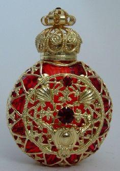 collectible Czech Bohemian perfume bottles  marteccisfinefragrances.com