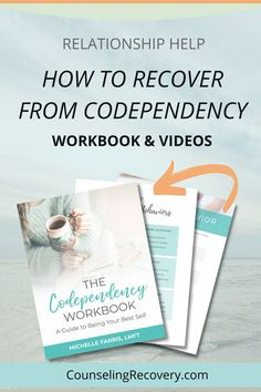Codependent relationships hurt becasue we put ourselves last which creates one-sided relationships. Learn how to stop these codependent patterns and take better care of yourself.This is a comprehensive workbook with short videos on self-care, intuition, setting boundaries, control issues, healing relationship behaviors and more! #codependency #codependent #relationships #boundaries #selfesteem #mentalhealth One Sided Relationship, Relationship Problems, Relationship Advice, Dysfunctional Relationships, Healthy Relationships, Codependency Recovery, Relapse Prevention, Improve Communication, Positive Living