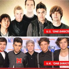 Wonder why people thing UK one direction is better?