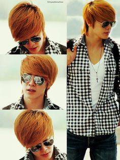 Donghae (동해) of Super Junior.