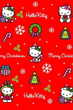 Hello Kitty Merry Christmas. Also see the related pins. I pinned this from https://www.pinterest.com/pmh69/cute-pics, which has too many cute pictures to scroll all the way through.