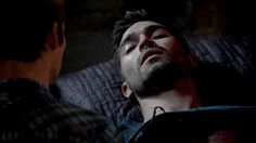 stiles and derek make out - Google Search