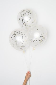 Hey, I found this really awesome Etsy listing at https://www.etsy.com/listing/229061166/confetti-balloons-11-whitemetallic-diy
