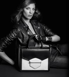 Kati Nescher for Karl Lagerfeld Spring/Summer 2014 Campaign