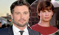 Tom Welling shows off his salt and pepper look at Draft Day premiere #DailyMail