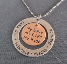 Hey, I found this really awesome Etsy listing at https://www.etsy.com/listing/170155618/personalize-necklace-hand-stamped
