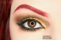 """""""Iron Heart"""" by #makeupartist and #model #redznowhite  aka #makeupartistme wearing Golden Halo, Midas, Steal the Night and Autumn #crueltyfree #mineral #leadfree #vegan #eyeshadow  Lola #blush  and both Honeylove and Heartfelt #mac #lipstick #makeup #cosmetics from #madeinusa #indiecompany #thebodyneeds for #makeupartists #mua #beauty   Also, #maccosmetics #macsamples #tbn"""