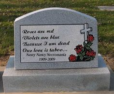 Funny Gravestone Inscriptions | Funny Gravestone Pictures 1★ Tombstone Epitaphs, Headstones in the ...