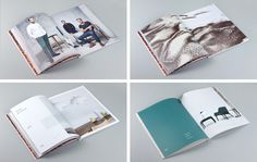 Brand identity and brochure by Design by Toko for Cult's new contemporary furniture range NAU