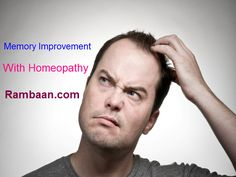 A healthy memory relies upon the wellbeing and vitality of your brain. Improve Your Memory with #Homeopathy. Best way to improve #memory without any side effect. Knock at Rambaan-The Online Homeopathic Clinic. Get the best consultancy!!