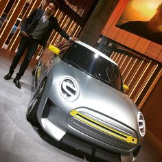 Mini design boss Oliver Heilmer with the #Mini Electric Concept