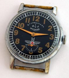 USSR Russian Watch Sturmanskie 1-MChZ Kirov /951