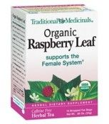 Organic Raspberry Leaf tea supports the female system by aiding healthy menstruation as well as toning the uterus. For millennia European and Native American women have safely used raspberry leaf for irregular menstruation, menstrual cramps and during pregnancy. Raspberry leaf has a robust, full-bodied flavor reminiscent of fine black tea, making it an excellent choice for a caffeine-free breakfast or afternoon tea