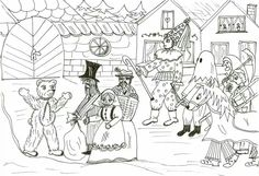 Colouring Pages, Coloring Books, Winter Art, Calendar, School, Children, Masky, Education, Spring
