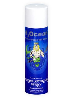 H2Ocean Piercing Aftercare Spray | Hot Topic