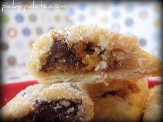 ohhh wow. chocolate chip cookie mini pies