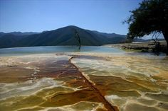 Hierve El Agua, hot springs near Oaxaca, Mexico are a beautiful site and great retreat for both locals and tourists alike. - My Scholarship entry - A 'place' I have visited - Mexico - WorldNomads.com