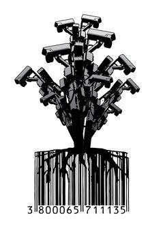 CCTV Tree by Dan Stratton, via Behance