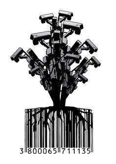 CCTV Tree by Dan Stratton, via Behance