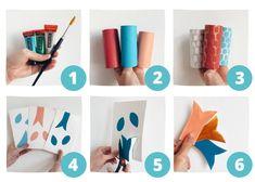 3 Fun DIY Sea Creatures: Toilet Paper Roll Crafts for Kids Toilet Paper Roll Crafts, Cardboard Crafts, Preschool Crafts, Crafts For Kids, Cool Toilets, Diy Pour Enfants, Under The Sea Crafts, Pencil Eraser, Fish Shapes