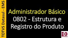 Totvs - Datasul - Treinamento Online (Gratuito): 0802 - EMS - Administrador Básico - Estrutura e Re...