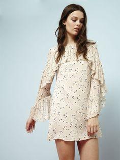 Butterscotch Volante Dress