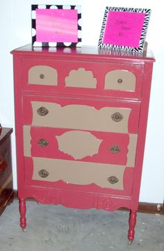 Crazy painted dresser!