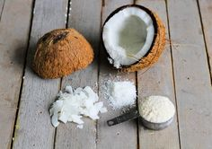 Baking with Coconut Flour tips When baking with coconut flour, there's a general ratio rule I follow: •1/2 cup of coconut flour •4 eggs •1/2 cup of liquid sweetener This ratio may vary a bit depending on the other ingredients in the recipe, but in general it works for me., such as