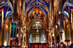Notre Dame University Basilica of the Sacred Heart, Indiana