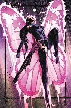 That Betsy Braddock Thang — 'Fly' - Fallen Angels Marvel Women, Marvel Dc Comics, Marvel Heroes, X Men, Comic Books Art, Comic Art, Book Art, Psylocke, Comic Character