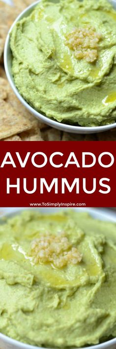 Loaded with protein, this Avocado Hummus will quickly become a favorite dip or healthy snack. Serve with your favorite crackers, warm pita bread or fresh veggies.