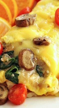 Veggie Omelets