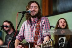 James Buckey, Joe Keefe and Alex Walker of Family of the Year perform an EndSession hosted by the End at Elysian Fields on April 2013 in Seattle, Washington. Family Of The Year, Poses, My Love, April 22, Seattle Washington, Fields, Music, Image, Beautiful