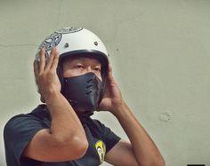 masque moto custom