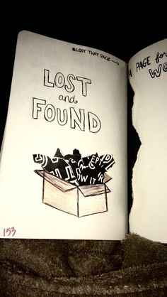 """First page finished, """"Lose this page. Throw it out. Accept the loss."""""""