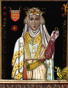 Blanche, Duchess/Lancaster (1345 –1368) was a noble-woman, heiress, daughter of England's wealthiest & most powerful peer, Henry of Grosmont, 1st Duke of Lancaster. She was the 1st wife of John of Gaunt, 1st Duke of Lancaster,  the mother of King Henry IV of England. It is believed that Blanche may have died aged 23 after contracting the Black Death which was rife in Europe at that time. John of Gaunt held annual commemorations of her death