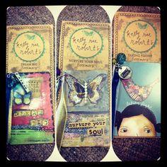 Kelly Rae Roberts bookmarks