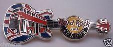 Hard Rock Cafe LONDON DOUBLE DECKER BUS ON UNION JACK FLAG PIN!!!